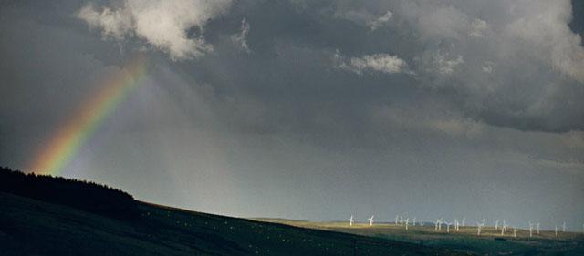 rainbow and trannon windfarm