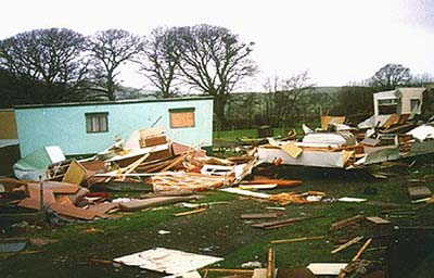 Wonderful  Your Caravan From Damage During High Winds  Caravan Guard Blog